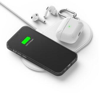 iPhone 12 12 Pro kaaned Ringke Air Ultra Thin silikoonist raamiga hall 11