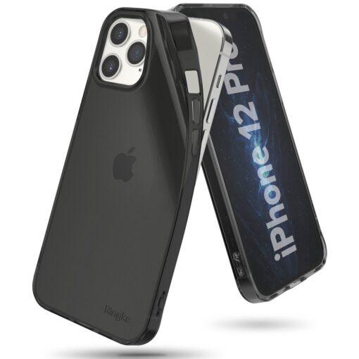 iPhone 12 12 Pro kaaned Ringke Air Ultra Thin silikoonist raamiga hall 2