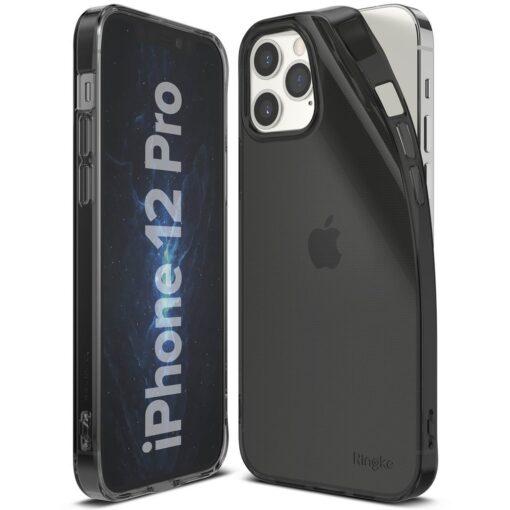 iPhone 12 12 Pro kaaned Ringke Air Ultra Thin silikoonist raamiga hall 3