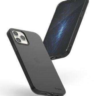 iPhone 12 12 Pro kaaned Ringke Air Ultra Thin silikoonist raamiga hall 5