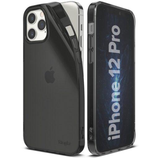iPhone 12 12 Pro kaaned Ringke Air Ultra Thin silikoonist raamiga hall