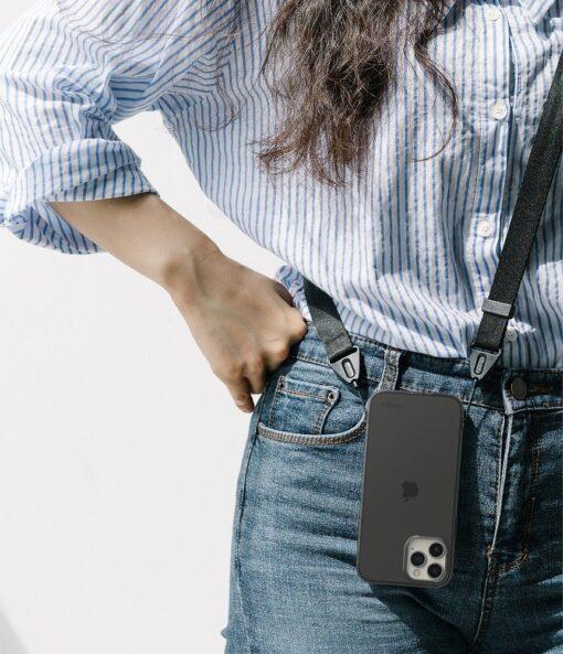 iPhone 12 12 Pro kaaned Ringke Air Ultra Thin silikoonist raamiga hall 7