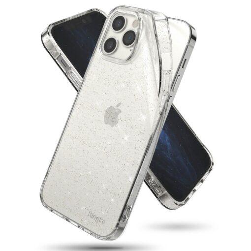 iPhone 12 12 Pro kaaned Ringke Air Ultra Thin silikoonist raamiga läbipaistev 1