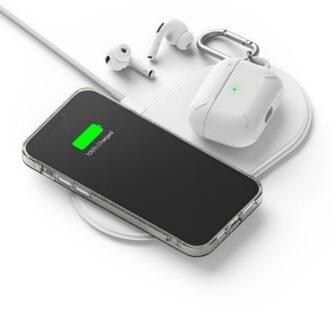 iPhone 12 12 Pro kaaned Ringke Air Ultra Thin silikoonist raamiga läbipaistev 11
