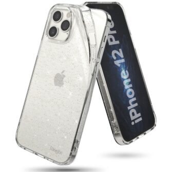 iPhone 12 12 Pro kaaned Ringke Air Ultra Thin silikoonist raamiga läbipaistev 2