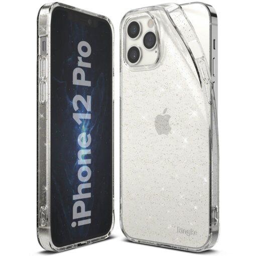iPhone 12 12 Pro kaaned Ringke Air Ultra Thin silikoonist raamiga läbipaistev 3