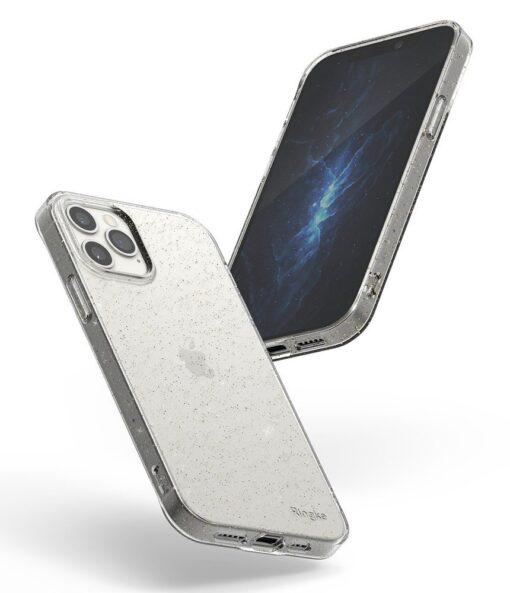 iPhone 12 12 Pro kaaned Ringke Air Ultra Thin silikoonist raamiga läbipaistev 5