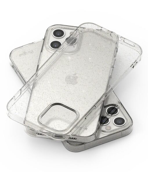iPhone 12 12 Pro kaaned Ringke Air Ultra Thin silikoonist raamiga läbipaistev 6