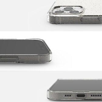 iPhone 12 12 Pro kaaned Ringke Air Ultra Thin silikoonist raamiga läbipaistev 9