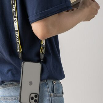 iPhone 12 12 Pro kaaned Ringke Fusion plastikust ja silikoonist raamiga hall 6