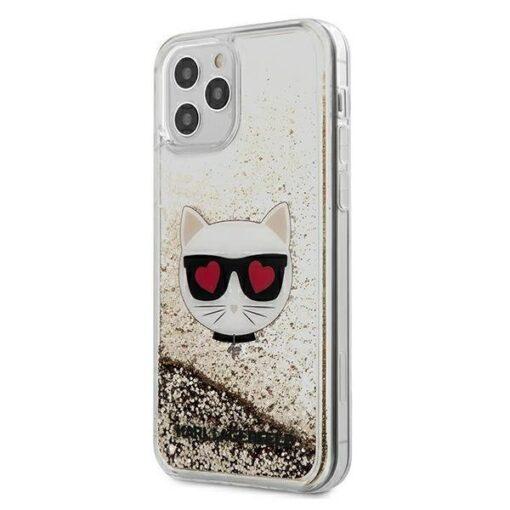 iPhone 12 Pro ümbris plastikust ja silikoonist servadega Karl Lagerfeld KLHCP12MLCGLGO