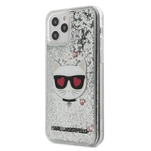 iPhone 12 Pro ümbris plastikust ja silikoonist servadega Karl Lagerfeld KLHCP12MLCGLSL