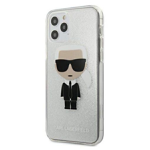 iPhone 12 Pro ümbris plastikust ja silikoonist servadega Karl Lagerfeld KLHCP12MPCUTRIKSL