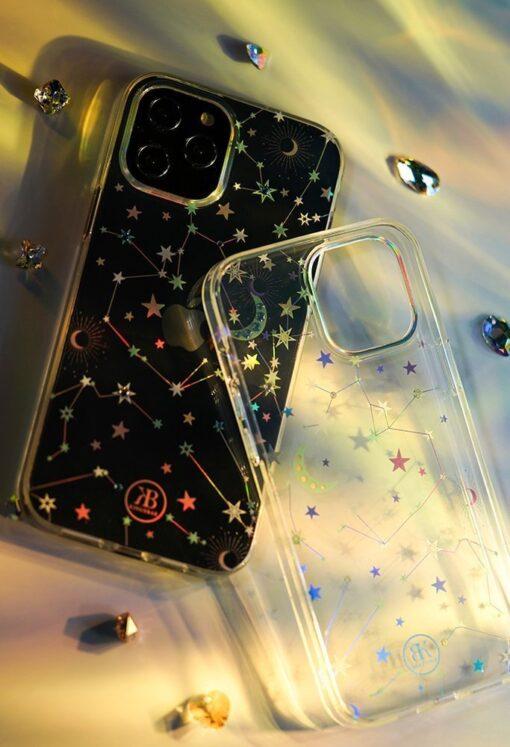 iPhone 12 iPhone 12 Pro ümbris Kingxbar Lucky elastsest plastikust Swarowski kristallikestega Clover 7