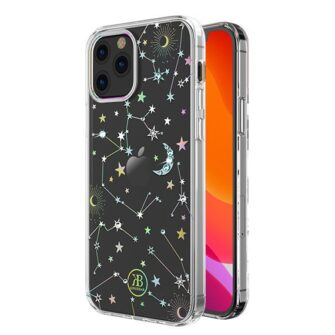 iPhone 12 iPhone 12 Pro ümbris Kingxbar Lucky elastsest plastikust Swarowski kristallikestega Zodiac 1