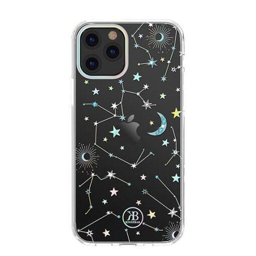 iPhone 12 iPhone 12 Pro ümbris Kingxbar Lucky elastsest plastikust Swarowski kristallikestega Zodiac