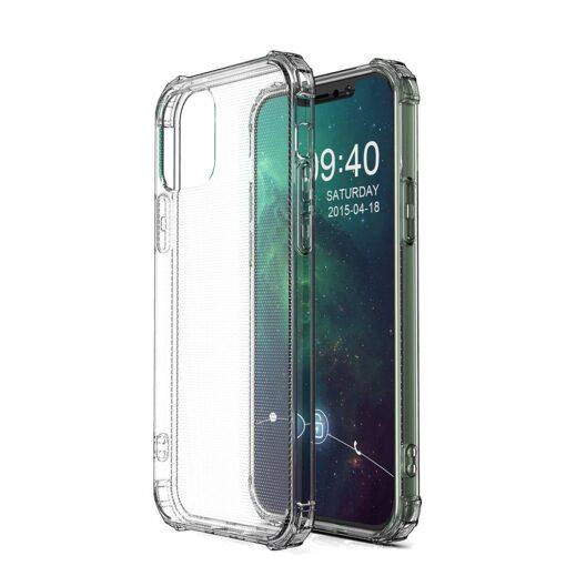 iPhone 12 iPhone 12 Pro ümbris tugevdatud nurkadega silikoonist 1