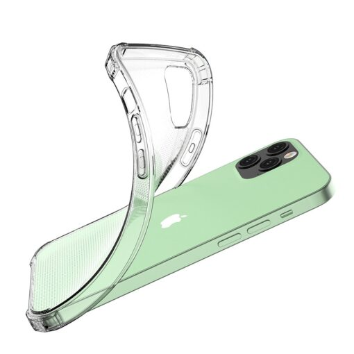 iPhone 12 iPhone 12 Pro ümbris tugevdatud nurkadega silikoonist 5