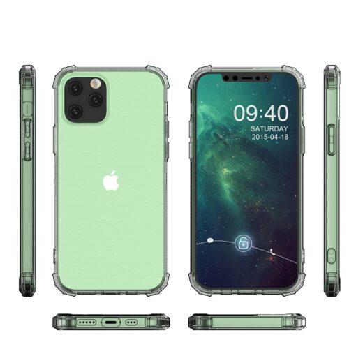 iPhone 12 iPhone 12 Pro ümbris tugevdatud nurkadega silikoonist 6