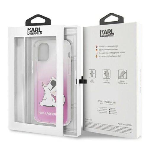 iPhone 12 kaaned plastikust ja silikoonist Karl Lagerfeld 4
