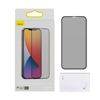 iPhone 12 mini kaitseklaas privaatsusfiltriga täisekraan 0.23mm 2tk 11