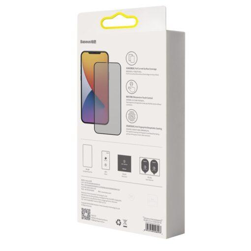 iPhone 12 mini kaitseklaas privaatsusfiltriga täisekraan 0.23mm 2tk 5