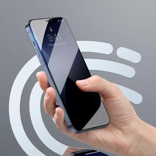 iPhone 12 mini kaitseklaas privaatsusfiltriga täisekraan 0.23mm 2tk 6