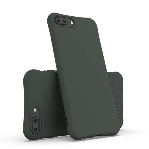 iPhone 7 ja 8 Plus ümbris silikoonist tugevdatud nurkadega must 1