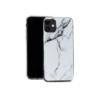 iphone 12 pro max silikoonst ümbris marmor valge3