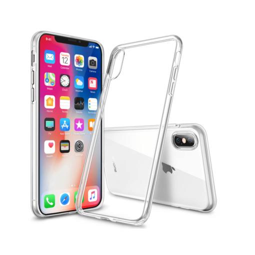 iphone xs max ümbris silikoonist läbipaistev
