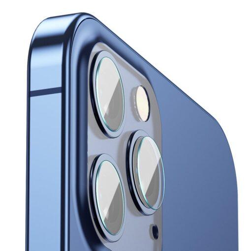 2tk iPhone 12 12 Pro ja 12 Pro Max Baseus kaamera kaitsekile 0.25mm 1