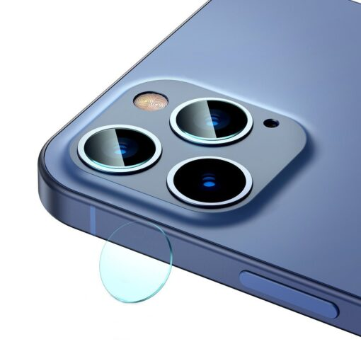 2tk iPhone 12 12 Pro ja 12 Pro Max Baseus kaamera kaitsekile 0.25mm 3