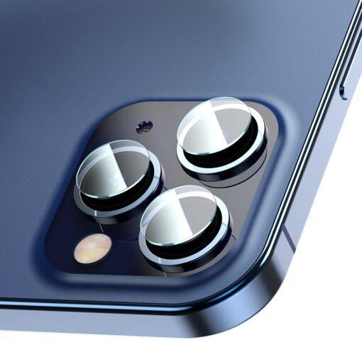 2tk iPhone 12 12 Pro ja 12 Pro Max Baseus kaamera kaitsekile 0.25mm
