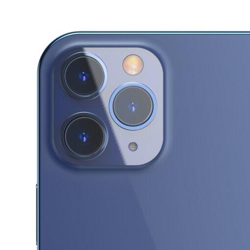 2tk iPhone 12 12 Pro ja 12 Pro Max Baseus kaamera kaitsekile 0.25mm 6