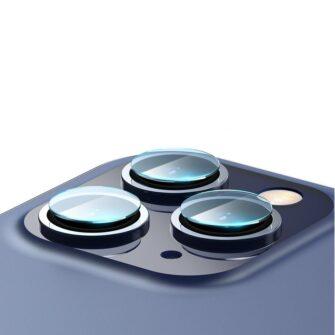 2tk iPhone 12 12 Pro ja 12 Pro Max Baseus kaamera kaitsekile 0.25mm 8