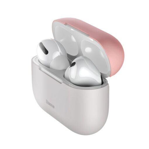 Baseus Silica Gel AirPods Pro Case umbris kaaned roosa ja hall