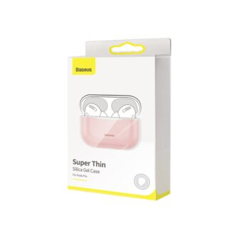 Baseus Silica Gel AirPods Pro Case umbris kaaned roosa ja hall 7