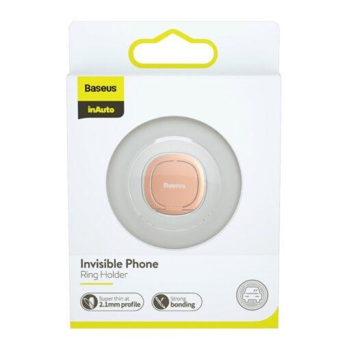 Baseus sõrmehoidja telefonile roosa 20