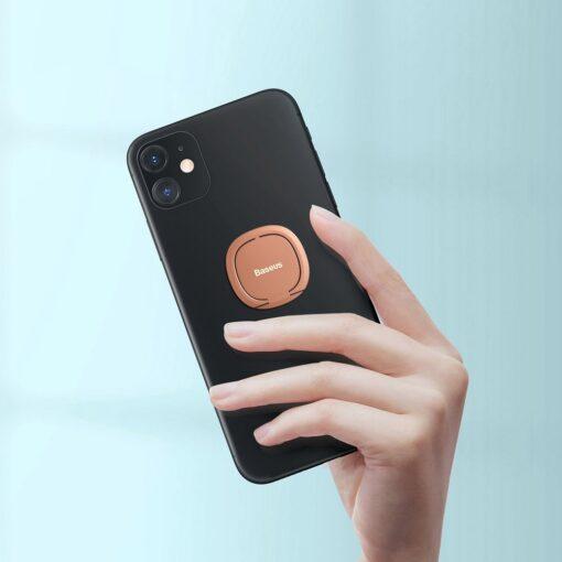 Baseus sõrmehoidja telefonile roosa 5