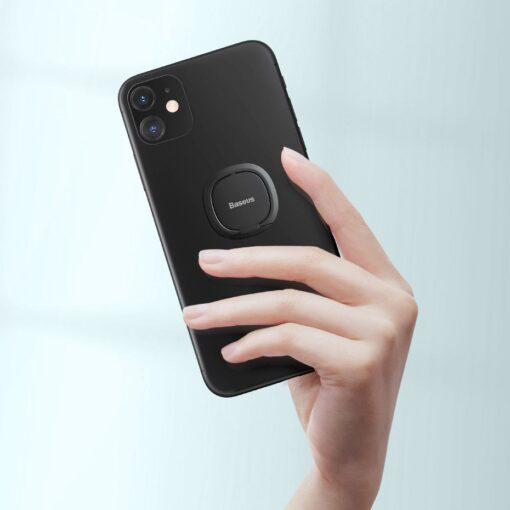 Baseus sõrmehoidja telefonile roosa 7