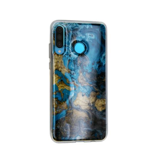 Huawei P30 Lite kaaned silikoonist Vennus Marble 4