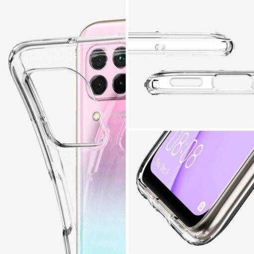 Huawei P40 Lite Spigen Liquid Crystal labipaistev umbris 1