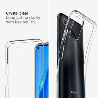 Huawei P40 Lite Spigen Liquid Crystal labipaistev umbris 5