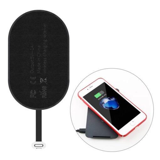 Juhtmevaba laadimise vastuvotja iPhone lightning laadimispesale Baseus WXTE A01