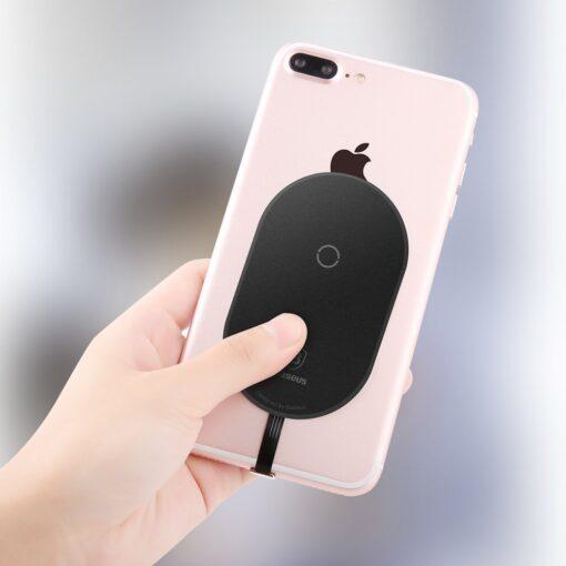 Juhtmevaba laadimise vastuvotja iPhone lightning laadimispesale Baseus WXTE A01 9