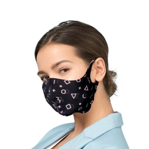Korduvkasutatav mask hobedaioonidega GEOMETRIE