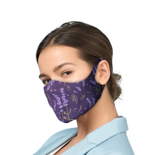 Korduvkasutatav mask hobedaioonidega VIOLETS