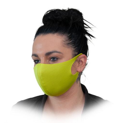 Korduvkasutatav naomask COOLMAX roheline