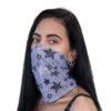 Korduvkasutatav pikk mask hobedaioonidega STARS