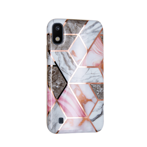 Samsung A10 kaaned silikoonist Cosmo Marble 4